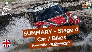 Stage 4 Summary - Car/Bike - (San Salvador de Jujuy / Tupiza) - Dakar 2017