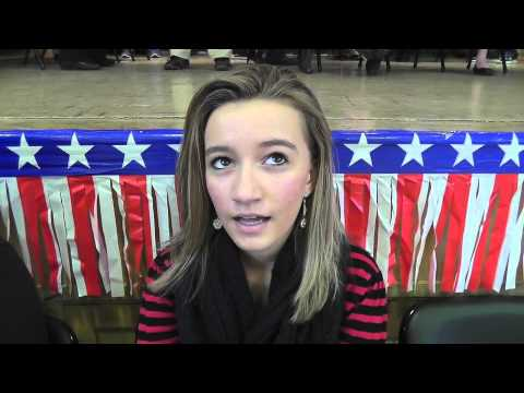 Mock Election held at Immanuel Lutheran - 11/06/2012