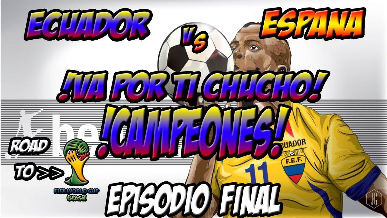 Barcelona Ecuador vs Espana Ecuador vs España