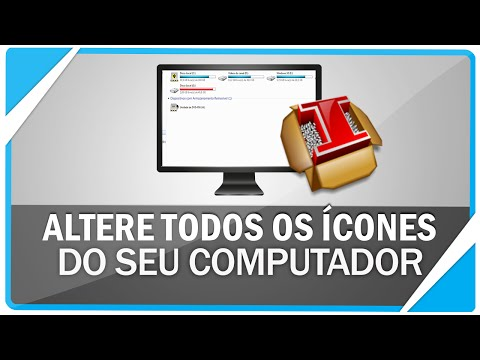 Como alterar todos os ícones do windows 7 . 8 e 8.1 automaticamente