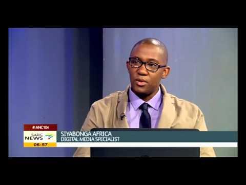 Siyabonga Africa on the power of social media
