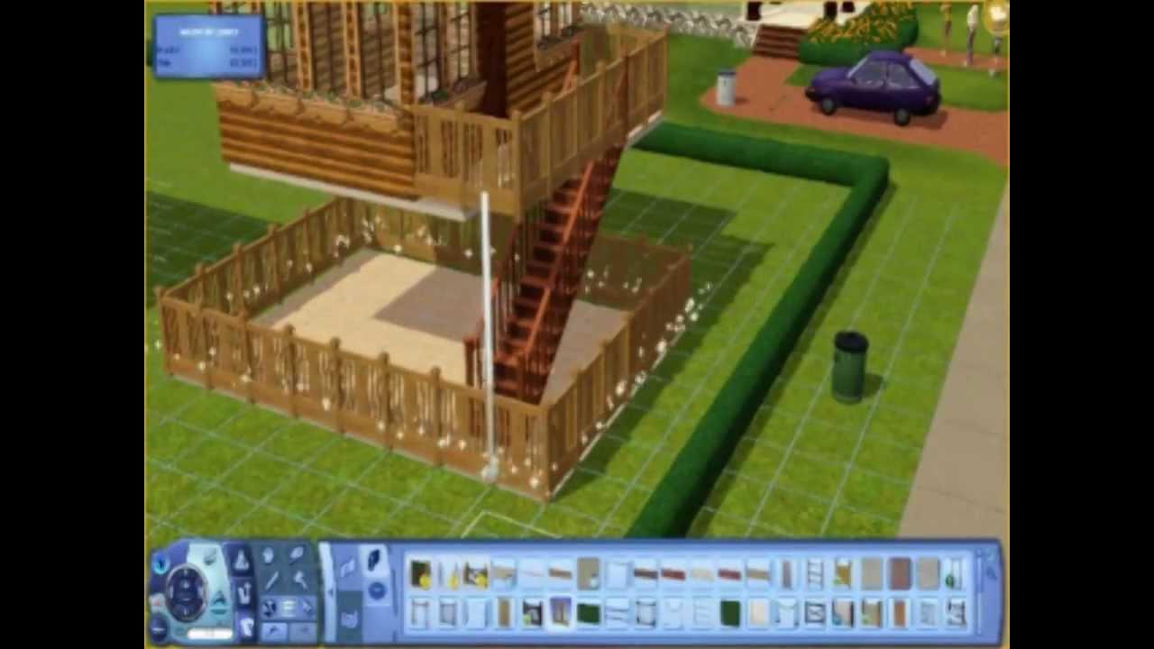 Construction d'une maison contemporaine | Sims 3 - YouTube