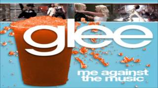Watch Glee Cast Me Against The Music video