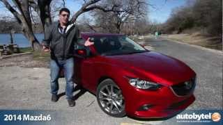 2014 Mazda6 Test Drive & Car Video Review