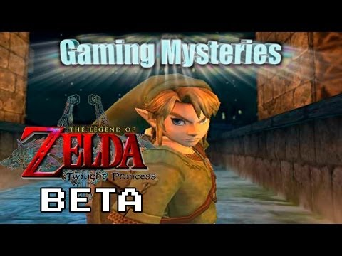 Gaming Mysteries: The Legend of Zelda Twilight Princess Beta (GCN / Wii)