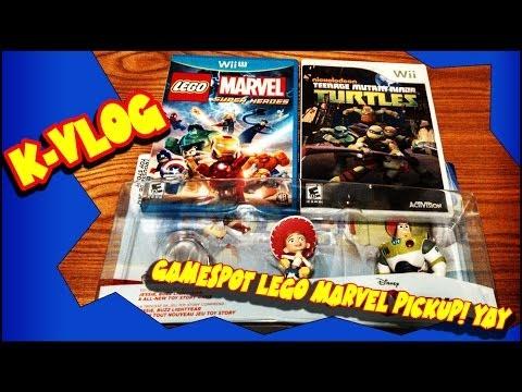 Kvlog Gamestop Lego Marvel pick up