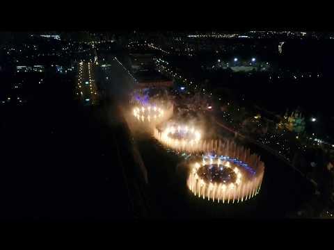4К - Фестиваль Круг Света 2017 с квадрокоптера, продолжение (24.09)