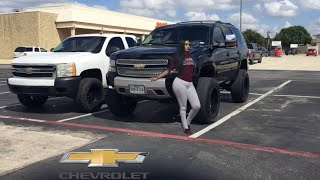 """TAHOE GETS A 8"""" LIFT WITH 20x12"""