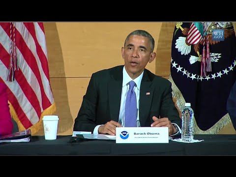 Climate Change May Make Storms Stronger Says Obama
