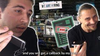 GETTING A JOB at a Tech Scam Call Center!