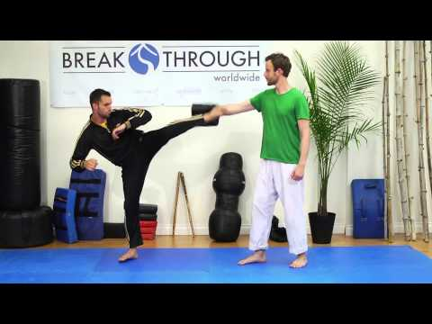 How to Do a Kyokushin Hook Kick : Martial Arts Techniques & Exercises Image 1