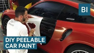 Peelable Paint Is The Easiest Way To Change The Color Of Your Car