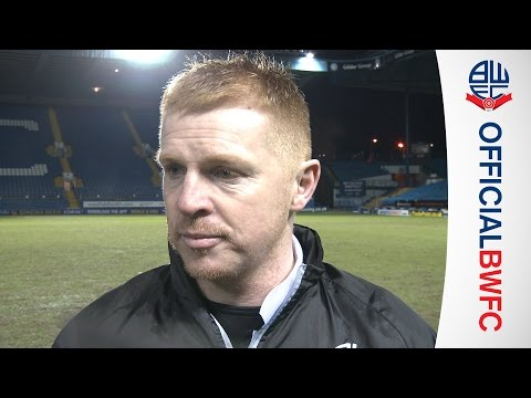 NEIL LENNON | Manager's post-Sheffield Wednesday thoughts
