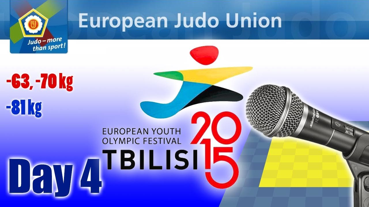 European Youth Olympic Festival - Tbilisi 2015 - Day 4