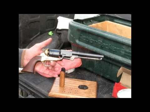 Loading a Black Powder 1851 Navy with Paper Cartridges