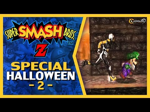 Super Smash Bros Z Special Halloween 2