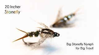20 Incher Stonefly Nymph - McFly Angler Fly Tying Tutorials