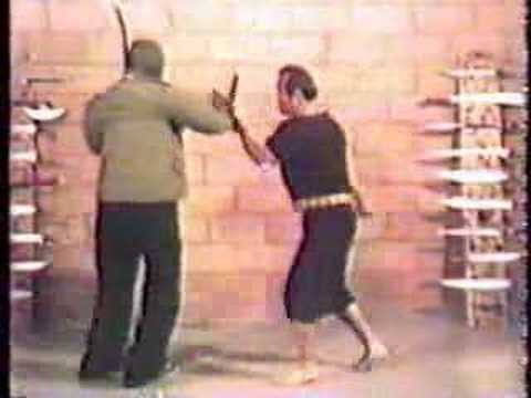 Inosanto Kali Filipino Martial Arts on Dummy Image 1