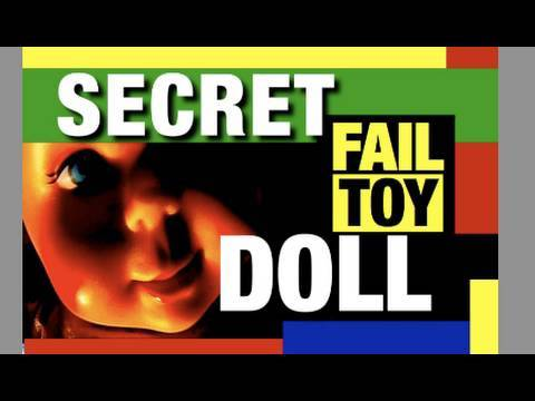 Scary Baby Secrets Doll, Fail Toy Review Mike Mozart JeepersMedia Funny Channel on YouTube