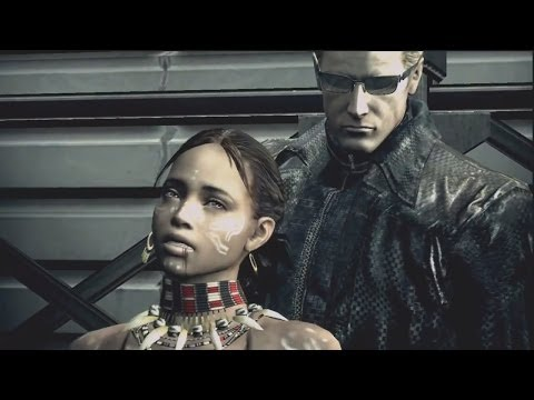 "Resident Evil 5 Gold Edition: (HD) ""Story Mode"" Sheva Alomar (Tribal) Death Scenes Ryona!"