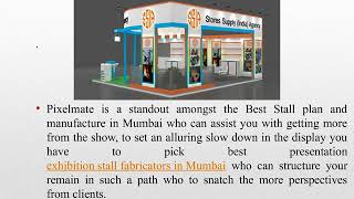 Exhibition Stall Designer in Mumbai | Booth Fabrication | Pixelmate