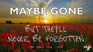Peppercorns Academy presents 'Maybe Gone' A tribute to WW1 heroes