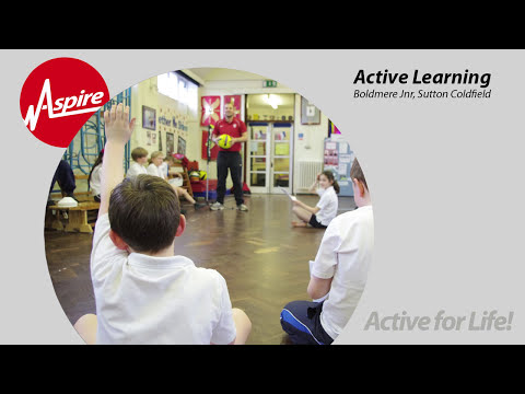 Maths through sport benefits Boldmere Junior School