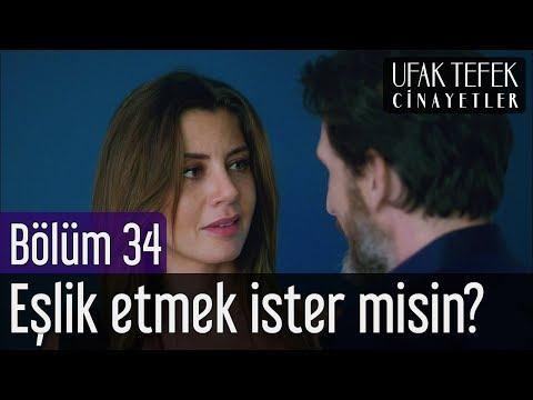 Ufak Tefek Cinayetler 34. Bölüm - Eşlik Etmek İster misin?