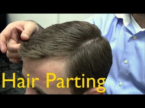 ✄ Barber Tutorials 2 Cutting and Styling: Parting