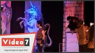 بالفيديو.. عرض مسرحية « الليلة ماكبث » لـ « ويليام شيكسبير » بدار الأوبرا