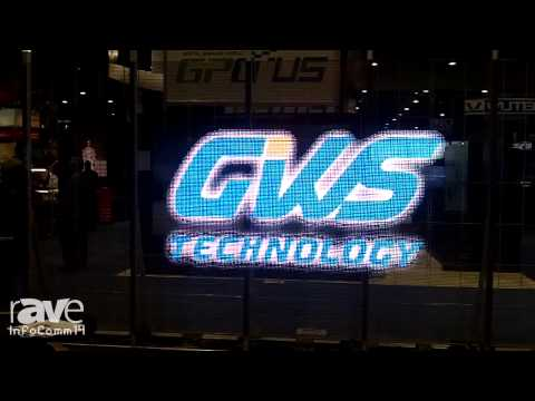 InfoComm 2014: GWS Technology Features Its Transparent LED Display