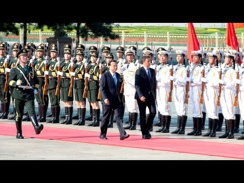 Renzi in Cina - Città Proibita a Pechino