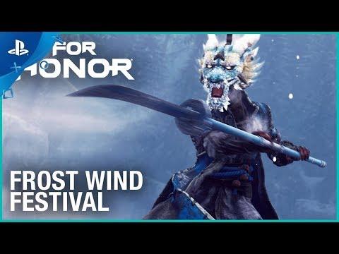 For Honor - Season 4: Frost Wind Festival Launch Trailer   PS4