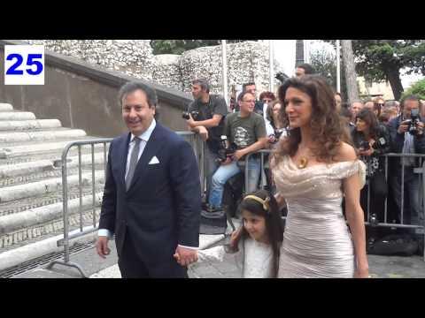 Valeria Marini Matrimonio – Arrivo Ospiti al Campidoglio di Roma – Paparazzi