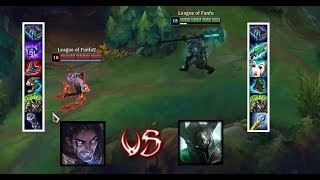MORDEKAISER VS NEW SYLAS  FULL BUILD FIGHTS LVL 18 ! LEAGUE OF LEGENDS