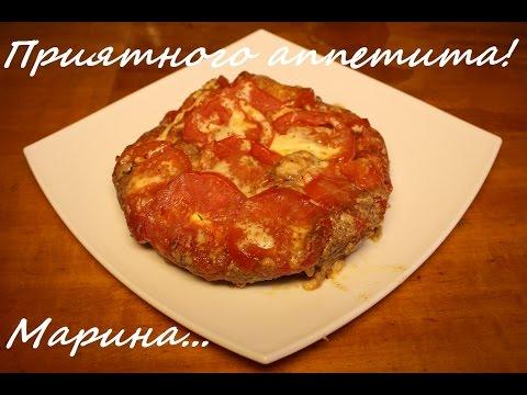 Как приготовить мясо с сыром - видео