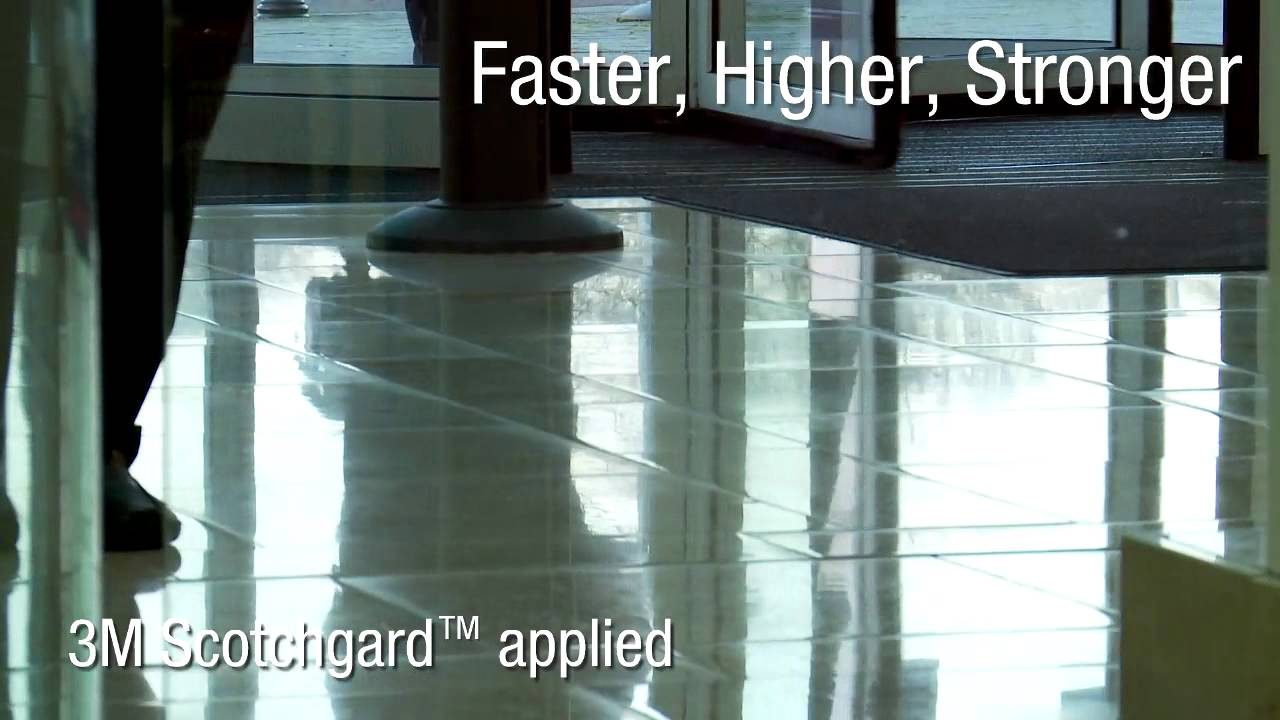 Scotchgard High Shine Stone Floors Youtube
