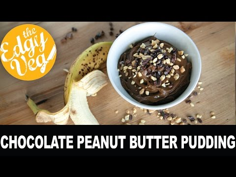 College Dorm Recipes: Healthy Peanut Butter Chocolate Pudding w/Health Nut Nutrition | The Edgy Veg
