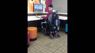 People at McDonald