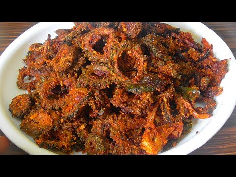 bitter gourd fry/ కాకరకాయ వేపుడు /how to make karela fry/bitter gourd fry for sugar patients