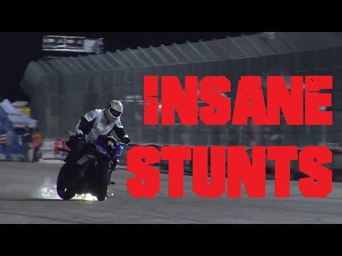 RED BULL BIKE STUN... HD..3D amazing bike stunts on YAMAHA R6 unbelievable must watch video