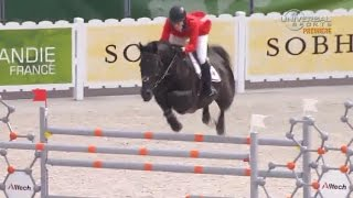 American Madden 2nd After Day 1 Jumping At Equestrian Games - Universal Sports