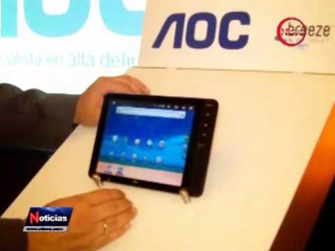 AOC lanza la nueva Tablet Breeze ultra portátil con conectividad Bluetooth y Wi-Fi