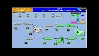Lập trình hệ thống băng tải vận chuyển than bật tắt theo thứ tự trên WINCC và S7300