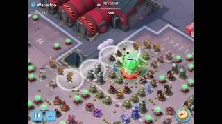 Boom Beach — Waterloo 2.3mln, 2 attacks, Dead End