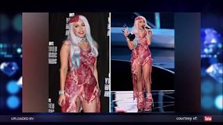 Shocking Meat Dress dari Lady Gaga!