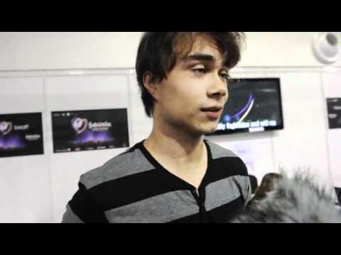 Alexander Rybak, interview Eurovision 2011 (I think Azerbaijan also can win)