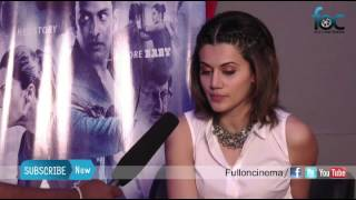 Taapsee Pannu shares Naan than Shabana movie experience - Fulloncinema