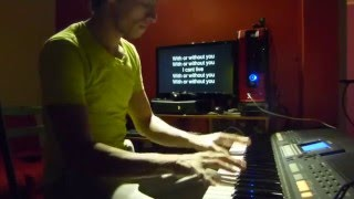 U2 - With or Without you Cover Piano