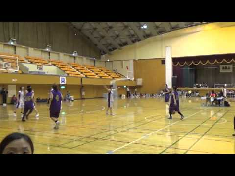 150628東北ママさんバスケット青森県予選一般(Sea☆Cats vsFUN )2Q